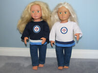 Jets Jersey for 18 inch dolls