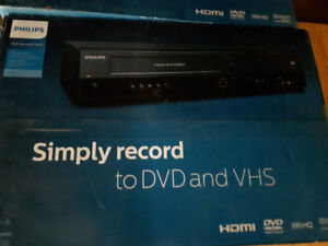 Philips DVD VHS Recorder/player