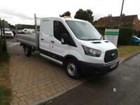 2017 17 Ford Transit 2.0 TDCi 130ps DoubleCab Flatbed