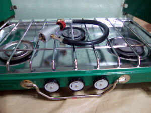 !!!!ATTENTION!!! COLEMAN COLLECTORS TRADE 3 BURNER STOVE