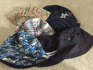 Infant Boys Sunhats-Excellent Condition.