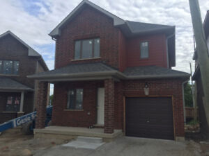 Brand New, Never Lived, Detached House, two floor, 3 bed + Den