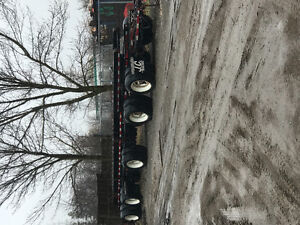 Capital Disposal Equipment Pup Trailer Turn table dolly