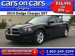 2014 Dodge Charger SXT w/USB Connect, BlueTooth, Satellite Radio