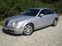 2005 Jaguar S Type 2.7D V6 4 doors diesel AUTOMATIC saloon in silver