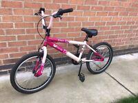 Girls Pink BMX Bike