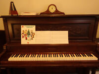 $30 Piano lessons 钢琴课