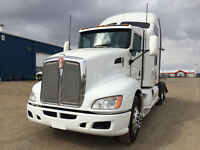 Kenworth T660 With 6,700 k on New Engine