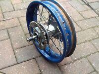 Pit bike rear rim