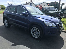 08 VW TIGUAN 2.0 TDI SPORT 4 MOTION FSH 92000 MILES STUNNING WELL LOOKED AFTER