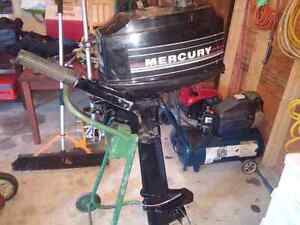 Mint condition 4 hp merc long shaft very low hours
