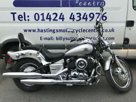 Yamaha XVS650 Dragstar / XVS 650 / V-twin Cruiser / Nationwide Delivery
