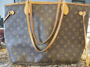 Louis Vuitton Neverfull bag authentic - used