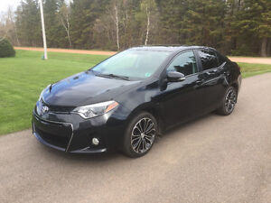2014 Toyota Corolla S with Premium Package