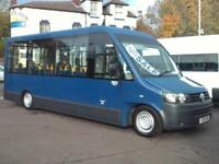 VOLKSWAGEN TRANSPORTER WHEELCHAIR ACCESSIBLE MINIBUS COIF TACHO PSV AIR CON DSG