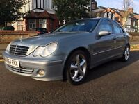 MERCEDES C220 DIESEL AUTOMATIC WITH ONLY 78K MILLAGE FSH