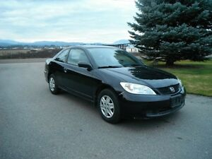 2005 Honda Civic Coupe Low Kms