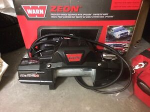 Warn winch and accesories