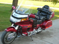 Honda Gold Wing with 2 passenger sidecar