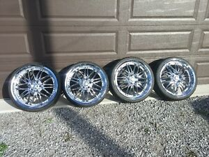 FS: 20 in. Chrome Rims w/ 235/30ZR20 Tires