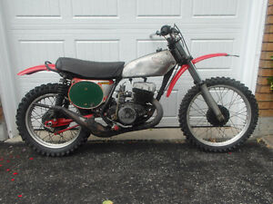 1974 Honda CR250 Elsinore vintage motocross bike