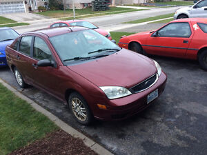 2006 Ford Focus Sedan, Looking to move ASAP