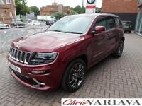 2017 Jeep Grand Cherokee 6.4 V8 HEMI SRT 5dr Auto Petrol red Automatic