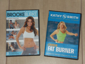FITNESS DVDS  *$5 for both*