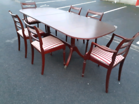 McIntosh Extendable Dining Table and 6 Chairs