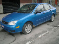 2007 Ford Focus 4 door Sedan