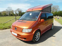 Mercedes-Benz Vito Camper - Elevating Bed Roof - 4 Travel Seats