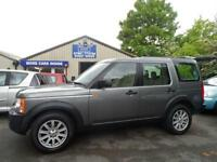 2008 08 LAND ROVER DISCOVERY 2.7 3 TDV6 SE 5D AUTO 7 SEATER SAT NAV FULL LEATHER