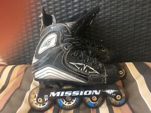 Mission Roller blades youth size 2R