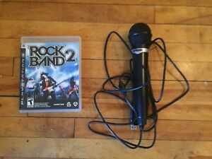 Rock Band 2 game with microphone / jeu Rock Band 2 avec micro