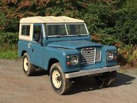 Land Rover series 3 1972 diesel project.