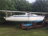 Sailing boat limbo 6.6