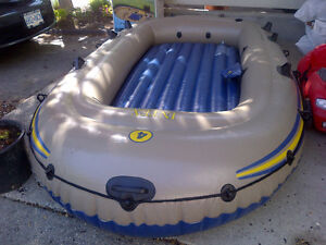 Intex Excursion 4 person inflatable boat