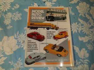 3 Model Auto(Diecast/Whitemetal) Review Magazines.