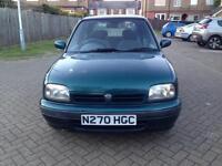 1995 Nissan Micra 1.3 16v SLX Hatchback 5dr Petrol CVT (155 g/km, 75 bhp)