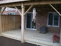 Deck, Fence, Pergola Projects By Camo Construction