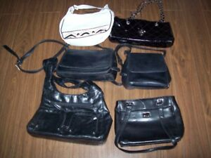 New and slightly used leather purses and wallets
