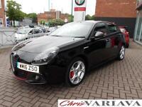 2016 Alfa Romeo Giulietta 2.0 JTDM-2 175 Speciale 5dr TCT Diesel black Automatic