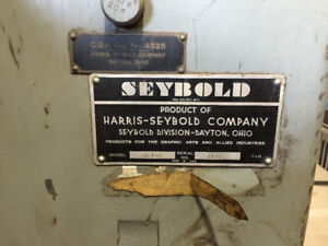 """SEYBOLD"" Guillotine for Sale"