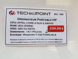 Laptop HP 14'' - Intel Core2Duo