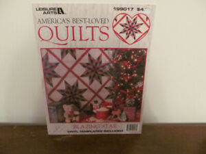 """Quilting """"Blazing Star"""" Book No 40"""