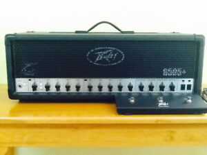 Peavey 6505+ 120w 2-channel electric guitar head w/footswitch