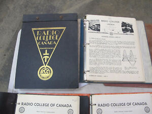 Vintage Radio College of Canada Training Course Material