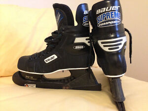 MEN'S BAUER SKATES-As New!!. West Island Mtl