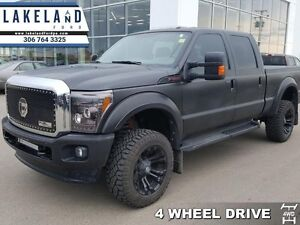 2015 Ford F-350 Super Duty Lariat  - Leveling Kit -  Fuel Grille
