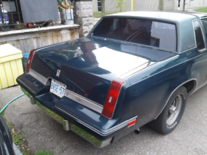 1988 oldsmobile cutlass supreme 6500 or best offer as is
